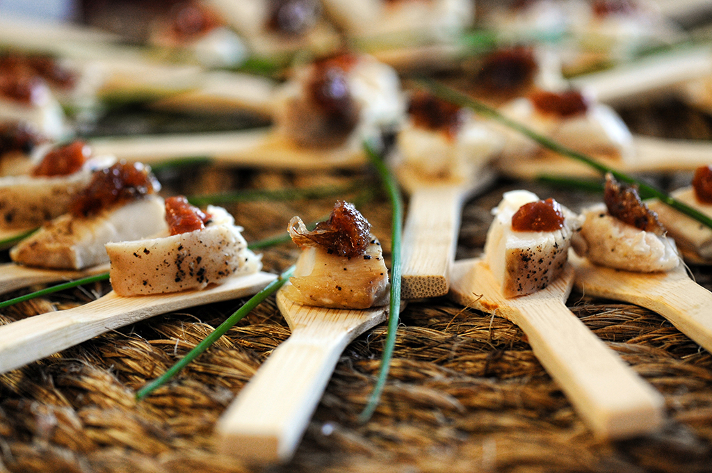 maryland food photographer - appetizer presentatioin