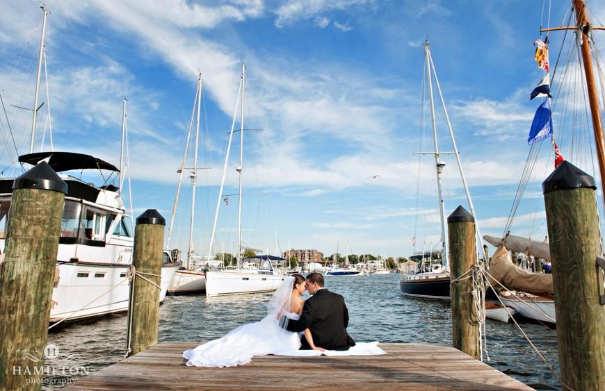 Hamilton Photography Annapolis Marriott Waterfront Wedding Heather Chris Weddings Events Portrait Photographer Serving