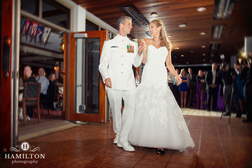 Hamilton Photography Wedding Reception Introduction Of The Bride And