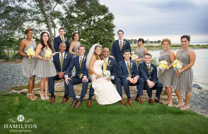 Casey Derin S Chesapeake Bay Beach Club Wedding