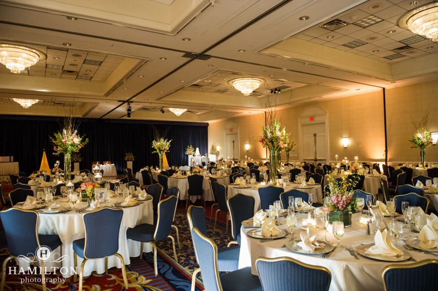 Hamilton Photography Wedding Reception Space At Westfields Marriott