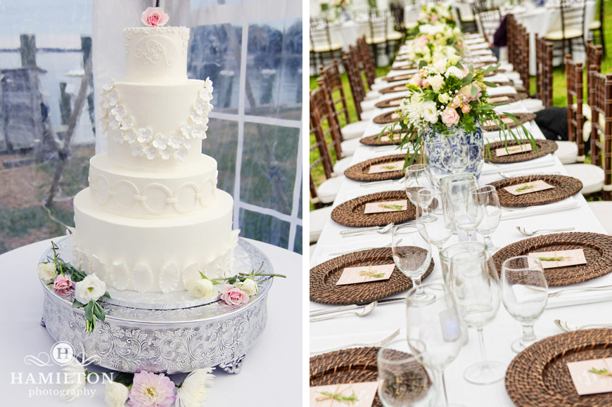 Wedding-reception-table-centerpieces-and-cake