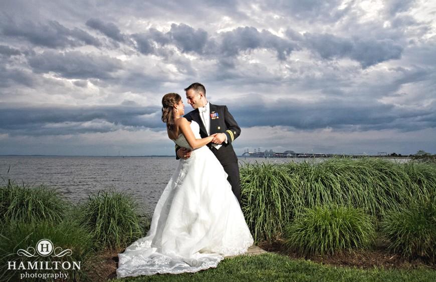 Beautiful Wedding Photography At The Chesapeake Bay Beach Club O