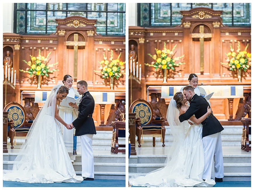 USNA Chapel Wedding Ceremony