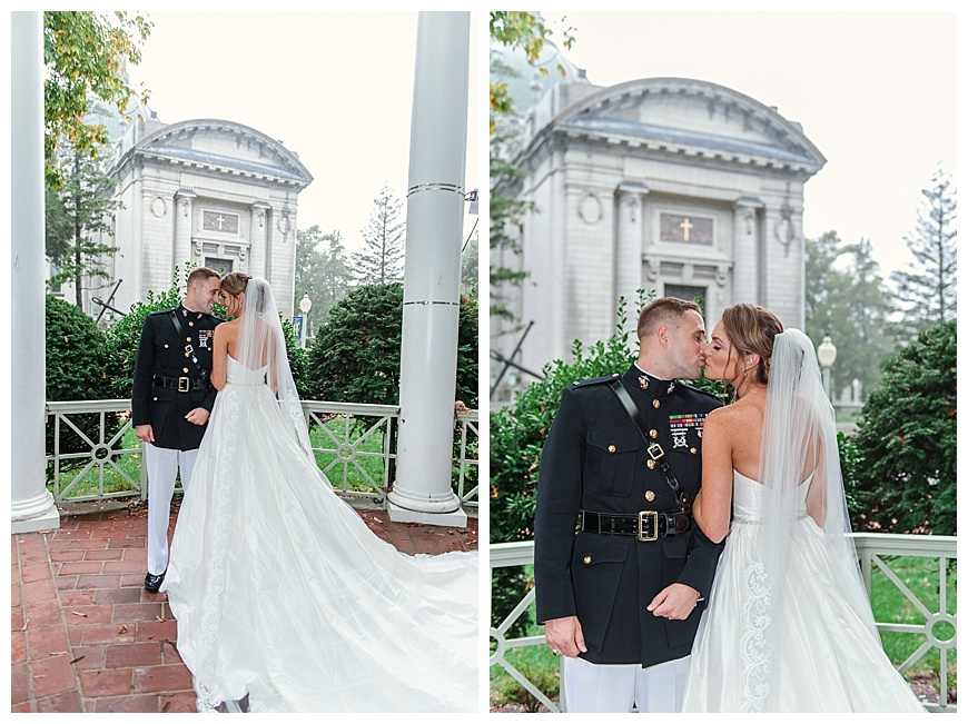 Beautiful USNA Wedding Photos