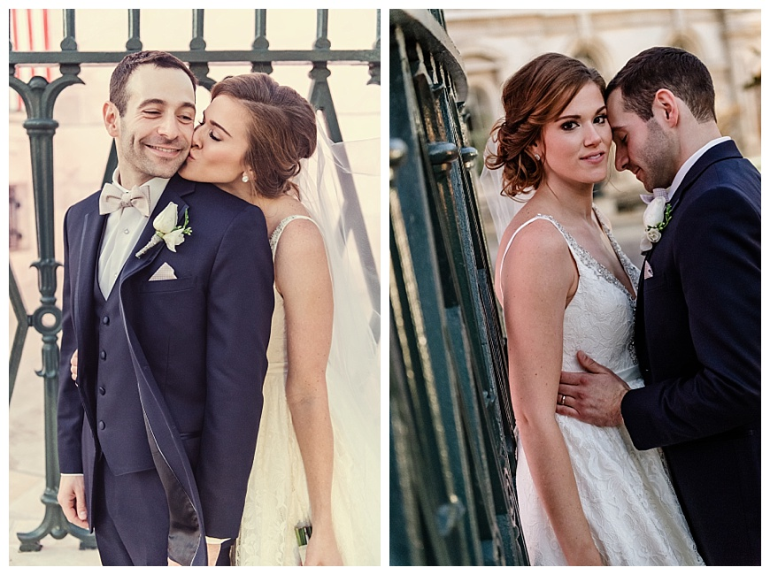 Adorable Bride and Groom Portraits