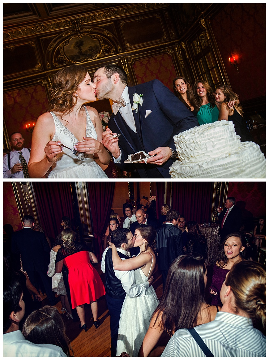 Officer's Club Wedding Dancing Photos