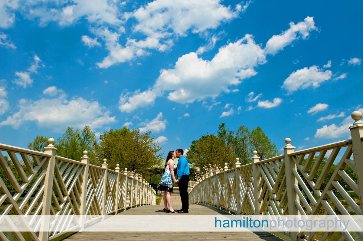 Annapolis Engagement Quiet Waters Park I Love Puffy Clouds We Had The Perfect Cloud Day For Michael And Angela S Sitting
