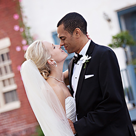 Annapolis wedding photo - side streets
