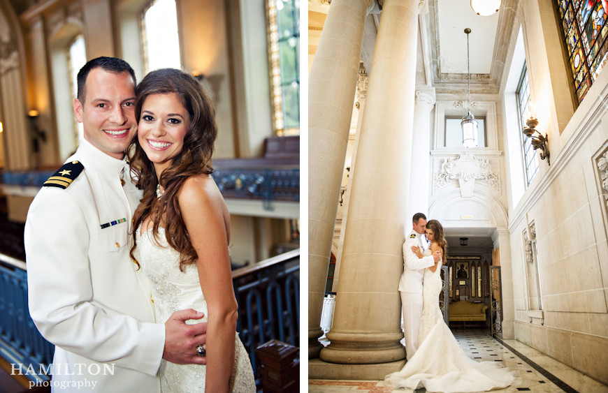 Hamilton Photography Married Nora Amp Joel S Naval Academy