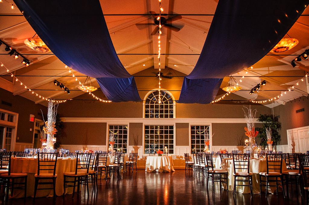 Eastern S Wedding Chesapeake Bay Beach Club Reception Room