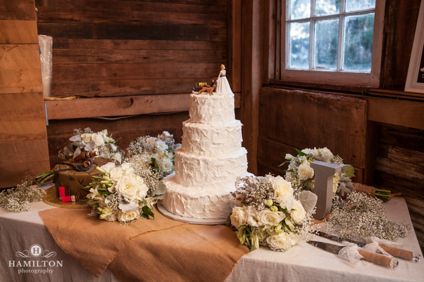Hamilton Photography Barn Wedding Photo Cake Table Weddings Events Portrait Photographer Serving Annapolis Baltimore