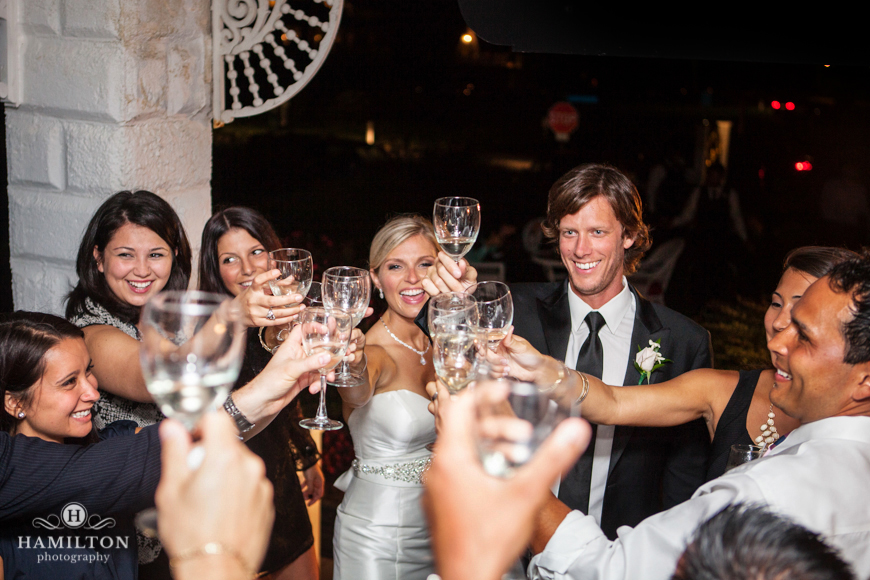 Hamilton Photography Wedding Toast At Addy Sea De Hamilton