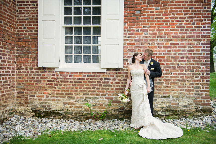 Bride and Groom Formal at Governor Calvert House