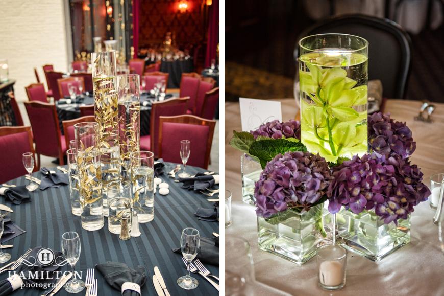 Hamilton photography inspiring wedding centerpiece ideas