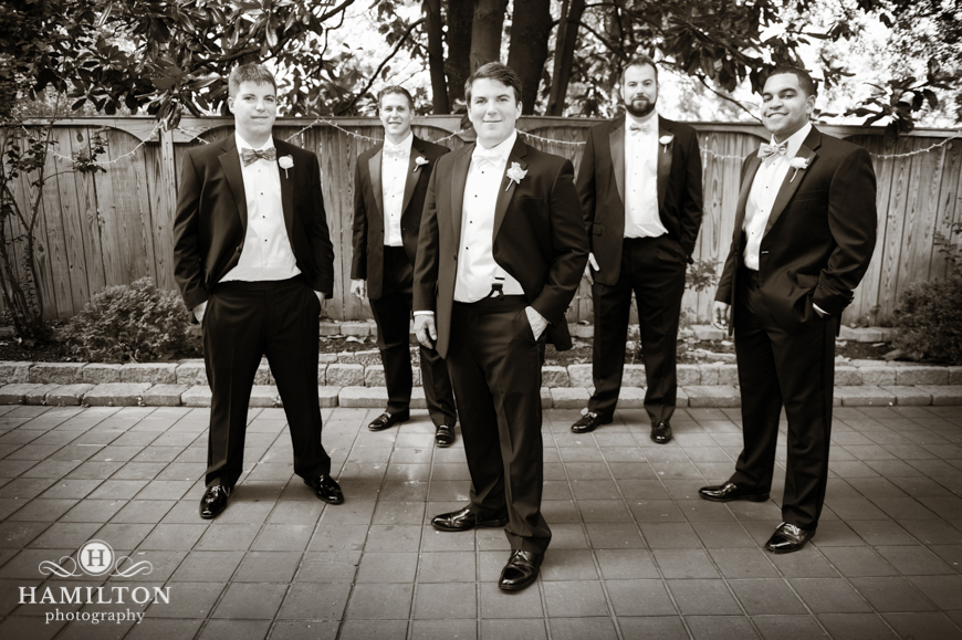 Wedding Groomsmen Portrait