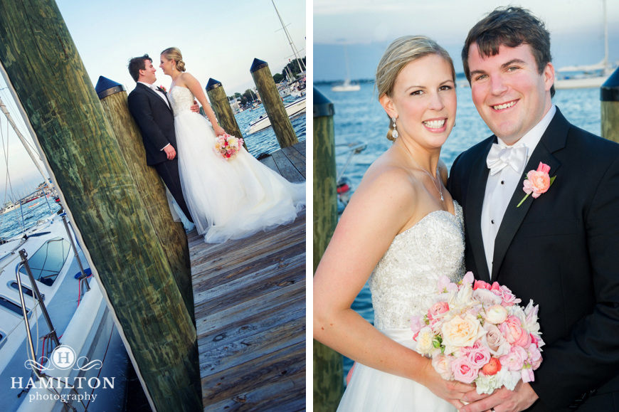 Wedding Formals at the Annapolis Docks