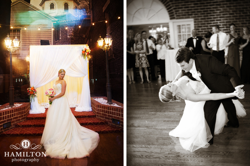 Calvert House Wedding