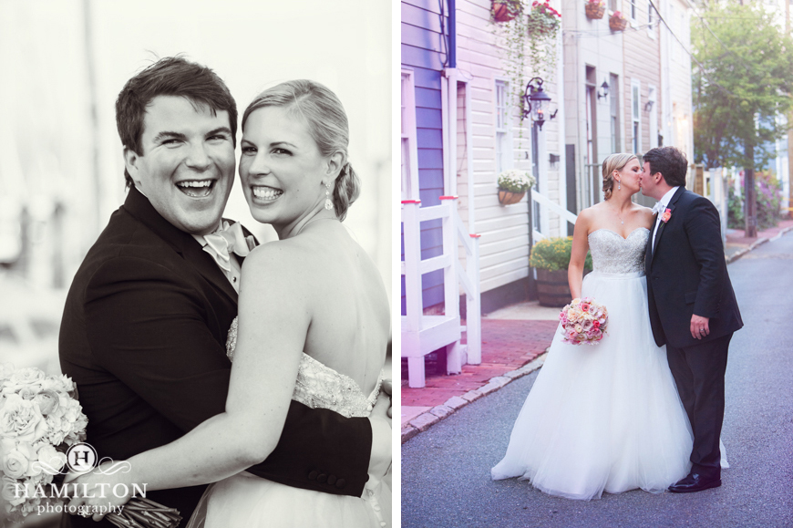 Cute Downtown Annapolis Wedding Formals