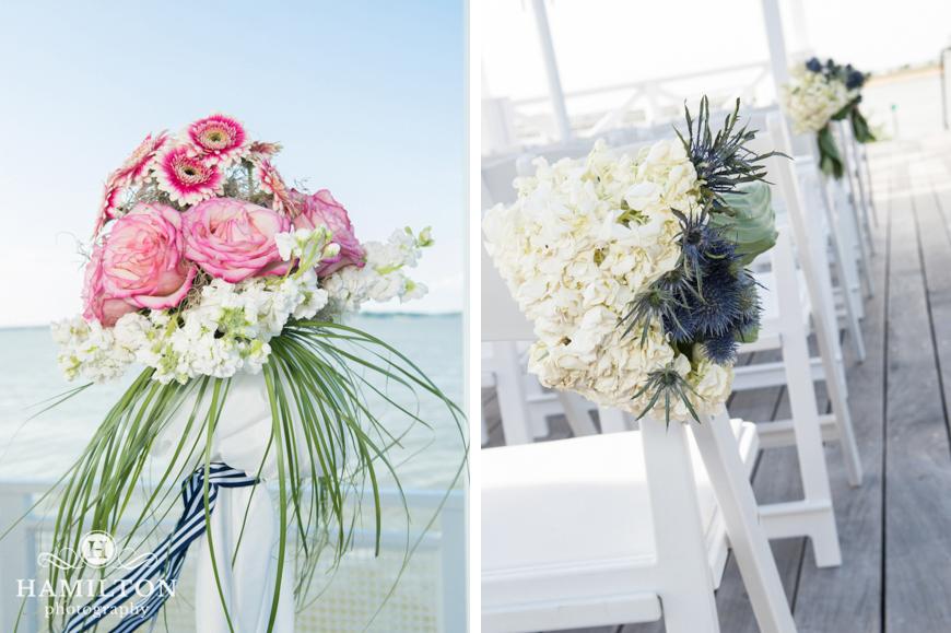 Hamilton Photography Beach Wedding Ceremony Decorations