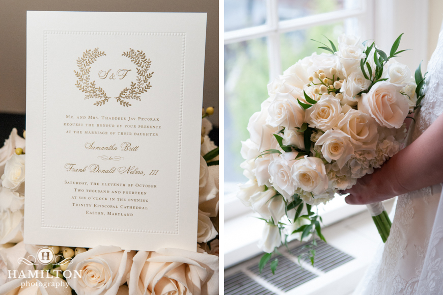 Wedding Flowers and Invitation