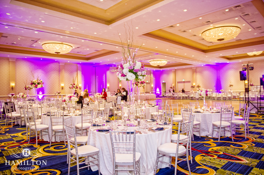 Hamilton Photography Wedding Reception At The Baltimore Marriott Waterfront Weddings Events Portrait Photographer Serving