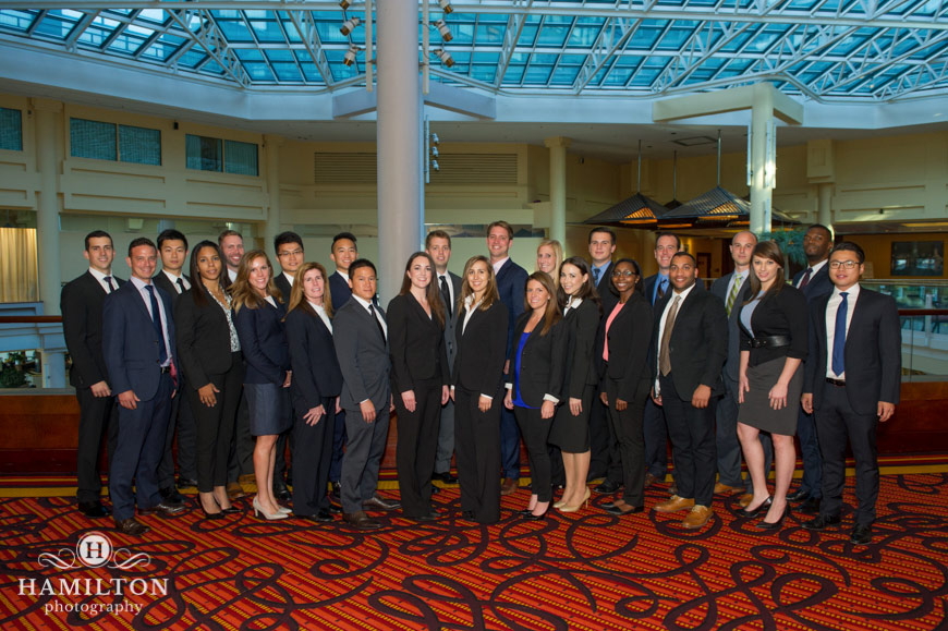Large Group Corporate Portrait