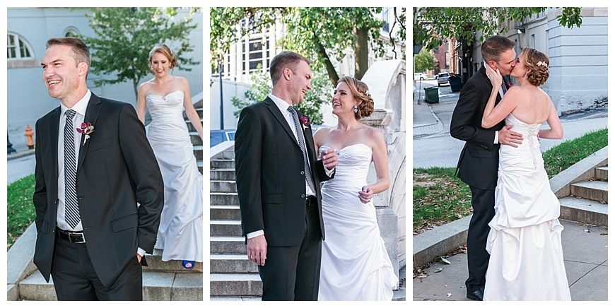 CharmCity - Baltimore Bride - Mt Vernon First Look