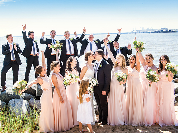 beautiful wedding photography on the Eastern Shore and Chesapeake Bay Beach Club